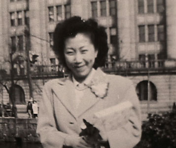 Mary Burmeister In Japan